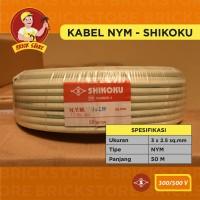 KABEL NYM shikoku 3X2,5mm 50m meter 3x2.5 50m 3 x 2,5 cable 3 x 2.5
