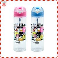 Botol Minum Plastik Kekinian - Biru