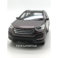 Welly Diecast – Hyundai SantaFe Skala 1:36 (Maroon)