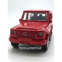 Welly Diecast – Mercedes Benz G Class Skala 1:36 (Merah)