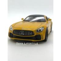 Welly Diecast – Mercedes Benz AMG GTR Skala 1:36 (Emas)