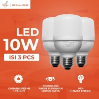 VIOLIN LED LIGHT BULB 10 WATT PAKET HEMAT 3 PCS