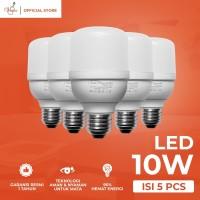 VIOLIN LED LIGHT BULB 10 WATT PAKET HEMAT 5 PCS