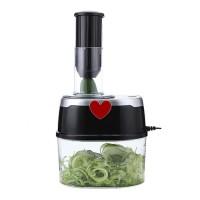 Pemotong Buah Dan Sayur Vegetable Spiral 4 Pisau Pemotong Multifungsi