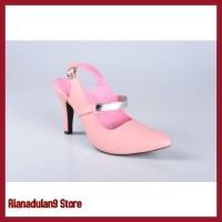 Promo Sendal Wanita Sepatu High Heels Wanita Cewe Pesta Hak Tinggi