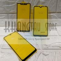 INFINIX HOT 10 - Tempered Glass Full Cover Full Glue Non Pack
