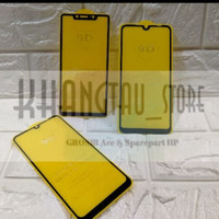 TEMPERED GLASS FULL COVER 9D For SAMSUNG A6 PLUS Non Packing.