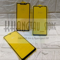 TEMPERED GLASS FULL COVER 9D For OPPO A5S Non Packing.