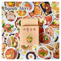 Sticker Deco Western Food Scrapbook DIY Bujo Planner Sealing Sticker
