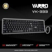 Keyboard + mouse varro USB std
