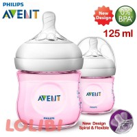 PHILIPS AVENT NATURAL 2.0 BOTOL SUSU BAYI 125ML TWIN PACK PROMO NEW