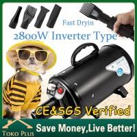 2800W Pengering bulu kucing grooming hewan anjing blower pet dryer