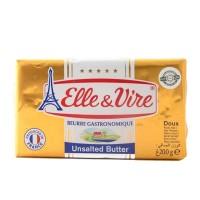 Elle & Vire Unsalted Butter 200 gr - Gourmet Butter