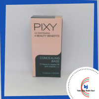 Pixy UV Whitening 4 Beauty Benefits Concealing Base 9 gram Nomor 02