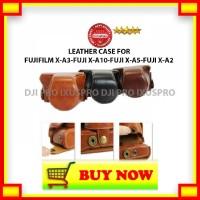 QD182 Leather Case Fujifilm X-A3 - Fujifilm X-A5 - Fujifilm X-A10 - TA