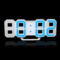 Jam Dinding Digital LED Ukuran Besar Desain Modern untuk Dekorasi