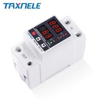 Din Rail Digital Over Under Voltage Current Protection 40A 63A 230V