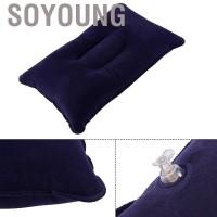 ---- Camping Hiking Sleeping Bag Air Inflation Sofa Pillow Cushion
