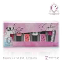 MADAME GIE Nail Shell Peel Off Set - Isi 6 botol