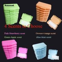 HN♥10Pcs/Set Fruit Scent Dental Orthodontic Wax for Braces Bracket