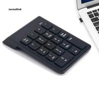 Keyboard Numerik 18 Tombol Mini USB 2.4GHz Wireless untuk PC /