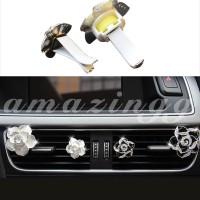 Parfum Klip Bentuk Bunga Diamond untuk Ventilasi AC Mobil
