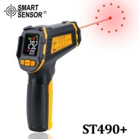 Infrared Thermometer Gun Non Contact Laser IR Smart Sensor ST490+
