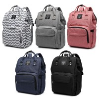 LEQUEEN Large Capacity Backpack For Mom Baby Care Bag Diaper Nappy