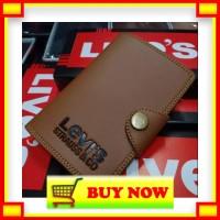 BS183 READYSTOCK Dompet Kulit Premium Pria Bifold Pendek Purse Wallet