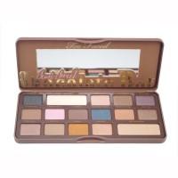 Palet Eyeshadow Kosmetik / Makeup 18 Warna Coklat Faced 18 Warna
