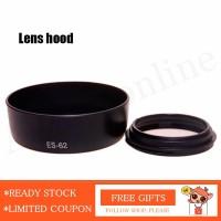 ES-62 Hood Lensa untuk Canon EOS EF 50mm f / 1.8 II es62 Lens