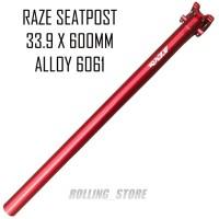 Raze Seatpost Sepeda Lipat Seli 33.9 mm x 600 mm Alloy