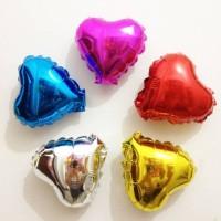 Love / Bintang ukuran 10cm/ balon foil/
