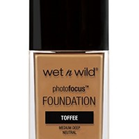 wet n wild Photo Focus Foundation, Toffee, 1 Ounce
