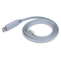 USB to RJ45 RS232 Serial Kabel USB Console Rollover Router untuk