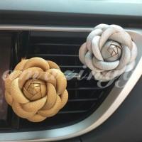 Klip Parfum Pengharum Ruangan Mobil Bentuk Bunga Camellia