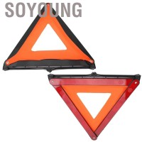 ---- Foldable Car Reflective Triangle Emergency Fault Sign Warning