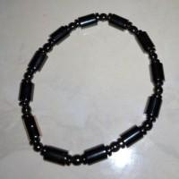 Kalung batu magnit hitam liontin Pendant bioscalar Aura hadiah gelang