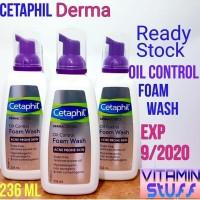 TERMURAH Cetaphil Dermacontrol Oil Control Foam Wash 236ml