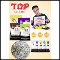 Diskon Hari Ini Pasir Kucing Top Cat Litter Bentonite Gumpal Wangi 25