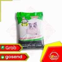 Terlaris Pasir Kucing Top Cat Litter Bentonite 20 Kg / Gumpal Wangi