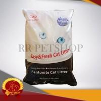 Termurah Gojek / Pasir Kucing Gumpal Bentonite Cat Litter 20 Kg Top