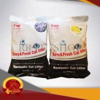 Big Sale Pasir Kucing Gumpal Bentonite Cat Litter 5 Liter / Top Cat