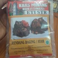 Bumbu Masak RENDANG DAGING AYAM ETI STR Khas Minang Bukittinggi