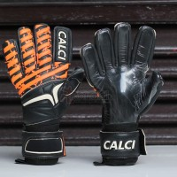 Calci Magma Ultima Black/ Oren - sarung tangan kiper goalkeeper glove