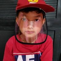Face Shield Topi Sekolah