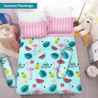 Bedcover 180x200 Summer Flamingo VITO