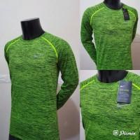 Kaos Running Nike Men's Dri Fit Knit Lengan Panjang KAOS OLAHRAGA NEW
