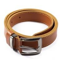 Ikat Pinggang Pria Gesper Sabuk Kulit Asli Leather Belt LB-T01
