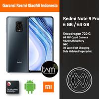 XiaoMi Redmi Note 9 Pro - 6 GB / 64 GB - Garansi Resmi